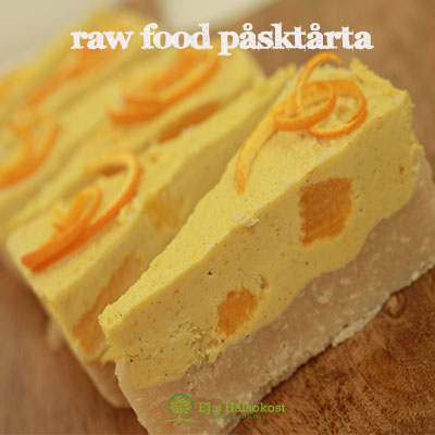 Raw Food Påsktårta